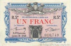 1 Franc FRANCE régionalisme et divers Toulon 1919 JP.121.29 TTB