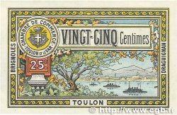 25 Centimes FRANCE régionalisme et divers TOULON 1922 JP.121.34 SUP+