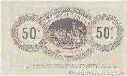 50 Centimes FRANCE régionalisme et divers Toulouse 1914 JP.122.05 SUP