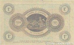 1 Franc FRANCE régionalisme et divers TOULOUSE 1914 JP.122.06 TTB