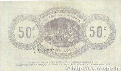 50 Centimes FRANCE régionalisme et divers TOULOUSE 1914 JP.122.08 SUP+