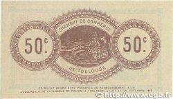 50 Centimes FRANCE régionalisme et divers TOULOUSE 1914 JP.122.12 SUP+