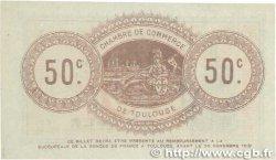 50 Centimes FRANCE régionalisme et divers TOULOUSE 1914 JP.122.13 SPL