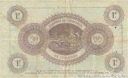 1 Franc FRANCE régionalisme et divers TOULOUSE 1914 JP.122.14 TTB