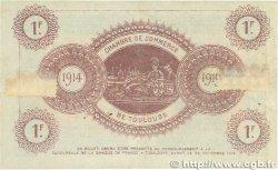 1 Franc FRANCE régionalisme et divers Toulouse 1914 JP.122.14 TTB+