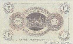 1 Franc FRANCE régionalisme et divers TOULOUSE 1914 JP.122.15 SUP+