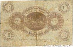 1 Franc FRANCE régionalisme et divers Toulouse 1914 JP.122.20 B+