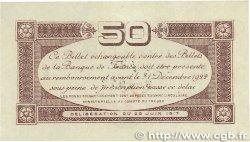 50 Centimes FRANCE régionalisme et divers TOULOUSE 1917 JP.122.22 SUP+