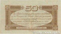 50 Centimes FRANCE régionalisme et divers Toulouse 1917 JP.122.22 TTB