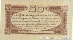 50 Centimes FRANCE régionalisme et divers TOULOUSE 1917 JP.122.23 TTB+