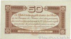 50 Centimes FRANCE régionalisme et divers TOULOUSE 1917 JP.122.23 SPL