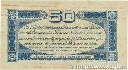 50 Centimes FRANCE régionalisme et divers Toulouse 1920 JP.122.39 pr.TTB
