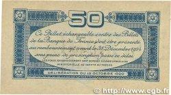 50 Centimes FRANCE régionalisme et divers Toulouse 1920 JP.122.39 TTB