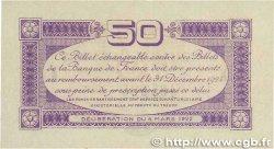 50 Centimes FRANCE régionalisme et divers TOULOUSE 1922 JP.122.44 SPL