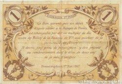 1 Franc FRANCE régionalisme et divers TOURS 1915 JP.123.01 TTB