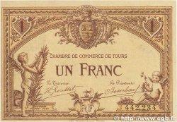 1 Franc FRANCE régionalisme et divers Tours 1915 JP.123.01 TTB+