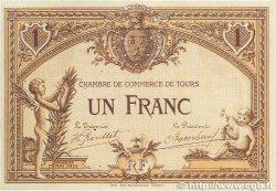 1 Franc FRANCE régionalisme et divers TOURS 1915 JP.123.02 SUP