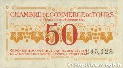 50 Centimes FRANCE régionalisme et divers Tours 1920 JP.123.06 TB