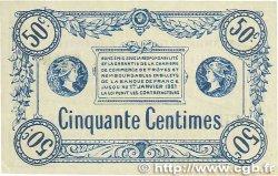 50 Centimes FRANCE régionalisme et divers TROYES 1918 JP.124.01 TTB