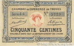 50 Centimes FRANCE régionalisme et divers TROYES 1918 JP.124.05