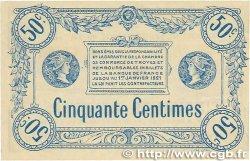 50 Centimes FRANCE régionalisme et divers Troyes 1918 JP.124.05 SUP+