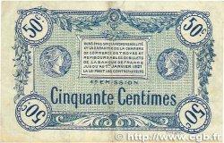 50 Centimes FRANCE régionalisme et divers Troyes 1918 JP.124.07 TTB