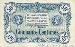 50 Centimes FRANCE régionalisme et divers TROYES 1918 JP.124.07 TTB+