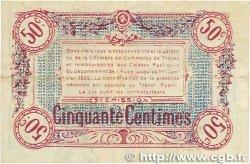 50 Centimes FRANCE régionalisme et divers Troyes 1918 JP.124.09 pr.TTB