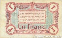 1 Franc FRANCE régionalisme et divers TROYES 1918 JP.124.10 TTB