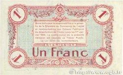 1 Franc FRANCE régionalisme et divers TROYES 1918 JP.124.10 SUP+