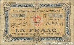 1 Franc FRANCE régionalisme et divers Troyes 1918 JP.124.12 B