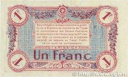 1 Franc FRANCE régionalisme et divers TROYES 1918 JP.124.12 SUP+
