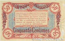 50 Centimes FRANCE régionalisme et divers TROYES 1918 JP.124.13 TTB