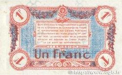 1 Franc FRANCE régionalisme et divers TROYES 1918 JP.124.14 SUP+