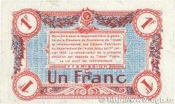 1 Franc FRANCE régionalisme et divers TROYES 1918 JP.124.14 SPL