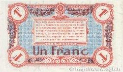 1 Franc FRANCE régionalisme et divers TROYES 1918 JP.124.14 pr.NEUF