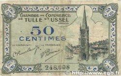 50 Centimes FRANCE régionalisme et divers TULLE et USSEL 1918 JP.126.01 B+