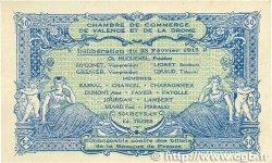 50 Centimes FRANCE régionalisme et divers VALENCE 1915 JP.127.02 TTB
