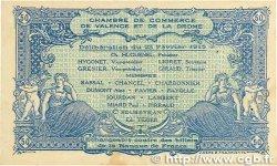 50 Centimes FRANCE régionalisme et divers VALENCE 1915 JP.127.02 SUP+