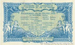 50 Centimes FRANCE régionalisme et divers Valence 1915 JP.127.02 SUP