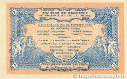 1 Franc FRANCE régionalisme et divers VALENCE 1915 JP.127.03 SUP