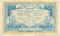 1 Franc FRANCE régionalisme et divers Valence 1915 JP.127.04 TTB