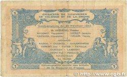1 Franc FRANCE régionalisme et divers VALENCE 1915 JP.127.07 B+