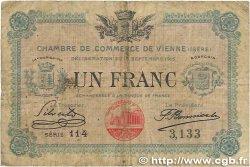 1 Franc FRANCE régionalisme et divers VIENNE 1915 JP.128.05 B