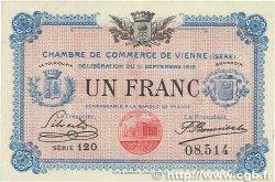 1 Franc FRANCE régionalisme et divers VIENNE 1916 JP.128.18 SUP+