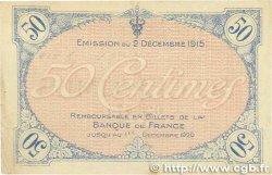 50 Centimes FRANCE régionalisme et divers VILLEFRANCHE-SUR-SAÔNE 1915 JP.129.01 TTB