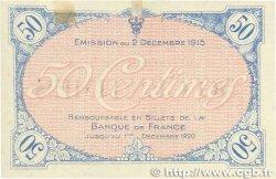 50 Centimes FRANCE régionalisme et divers Villefranche-Sur-Saône 1915 JP.129.01 SPL