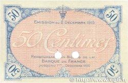50 Centimes FRANCE régionalisme et divers Villefranche-Sur-Saône 1915 JP.129.02 pr.SPL