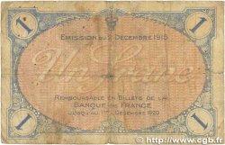 1 Franc FRANCE régionalisme et divers VILLEFRANCHE-SUR-SAÔNE 1915 JP.129.04 B
