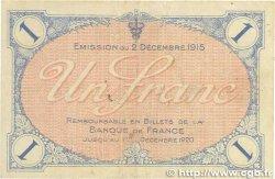 1 Franc FRANCE régionalisme et divers Villefranche-Sur-Saône 1915 JP.129.04 TTB